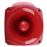 Klaxon Nexus Sounder Beacon 105dB, Red Xenon, 10 → 60 V dc