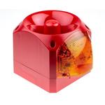 Klaxon Nexus Sounder Beacon 105dB, Amber Xenon, 10 → 60 V dc