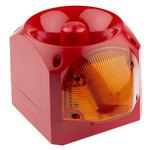 Klaxon Nexus Sounder Beacon 105dB, Amber Xenon, 110 V ac, 230 V ac