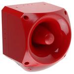 Klaxon Nexus Sounder Beacon 120dB, Red Xenon, 110 V ac, 230 V ac