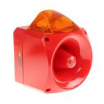 Klaxon Nexus Sounder Beacon 120dB, Amber Xenon, 110 V ac, 230 V ac