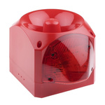 Klaxon Nexus Sounder Beacon 110dB, Red Xenon, 10 → 60 V dc
