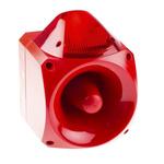 Klaxon Nexus Sounder Beacon 110dB, Red Xenon, 110 V ac, 230 V ac