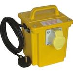 Carroll & Meynell, 375VA CM7501 Single Phase Portable Isolation Transformer, 230V ac, 3A