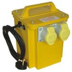 Carroll & Meynell, 750VA CM15002 Single Phase Portable Isolation Transformer, 230V ac, 6A