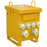 Carroll & Meynell, 10kVA CM10K16 Single Phase Isolation Transformer, 230V ac, 2 x 32 A, 4 x 16 A