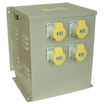 Carroll & Meynell, 5000VA CM5000/WM4 Safety Transformer, 230V ac, 31.81A