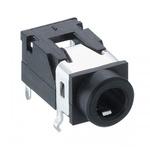 Lumberg 3.5 mm PCB Mount Stereo Jack Socket, 4Pole 1A