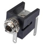 Lumberg 2.5 mm PCB Mount Mono Jack Socket, 2Pole 300mA