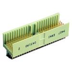 ERNI, ERmet 2mm Pitch Hard Metric Type A Backplane Connector, Male, Vertical, 25 Column, 7 Row, 110 Way