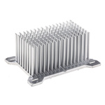 Heatsink, Universal Square Alu, 4K/W, 80 x 58.6 x 36mm, Screw