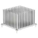 Heatsink, Universal Square Alu, 6.5K/W, 60.1 x 53 x 35.1mm, Solder