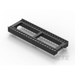 TE Connectivity 2.54mm Pitch Straight 40 Way, Through Hole Ladder IC Dip Socket, 1A