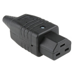 Schurter C21 Cable Mount IEC Connector Socket, 16.0A, 250.0 V