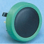 Black Button Tactile Switch, SPST-NO 80 mA