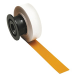 Brady on Yellow Label Printer Tape, 28.6 mm Width
