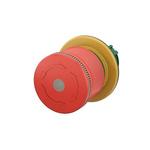 Eaton Panel Mount E-Stop - Turn to Release, 22.5mm Cutout Diameter Mushroom Head