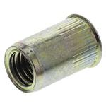 Böllhoff Plain, M8 Steel Threaded Insert, 12mm diameter 11mm Depth 17.5mm