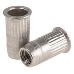 Böllhoff Plain, M4 Stainless Steel Threaded Insert diameter 6mm