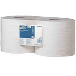 Tork Dry Multi-Purpose Wipes for Basic Wiping Task, Centrefeed Dispenser, Cleaning Staff, Floor or Wall Stand