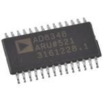 AD8348ARUZ, ,Demodulator ,Quadrature 25.5dB 75MHz ,28-Pin TSSOP
