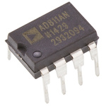 AD811ANZ Analog Devices, Video Amplifier IC 2500V/μs, 8-Pin PDIP