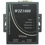 WIZnet Inc WIZ1000 Interface Adapter, 10/100 Ethernet, RJ45, RS232