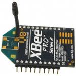Digi International XBP24BZ7WIT-004J ZigBee Module +10dBm -102dBm ADC, DIO, UART Serial, WPAN 2.7 → 3.6V 32.94 x