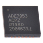 Analog Devices 24 bit Energy Meter IC 28-Pin LFCSP WQ, ADE7953ACPZ