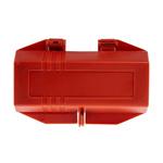 Brady 4 Lock 7mm Shackle PP Plug Lockout- Red
