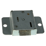Euro-Locks a Lowe & Fletcher group Company Panel to Tongue Depth 6.4mm Zinc Slam Lock, Key to unlock