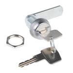 Euro-Locks a Lowe & Fletcher group Company Panel to Tongue Depth 22mm Stainless Steel Camlock, Key to unlock