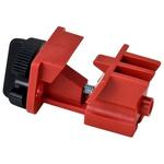Brady 7mm Shackle Nylon Multi-Pole Breaker Lockout- Red