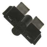 Littelfuse, ATO Shunt Straight Black Shunt 2 Way 1 Row