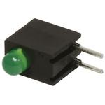 Bivar H101CGD, Green Right Angle PCB LED Indicator, Through Hole 2.8 V