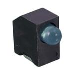 Bivar H131CSGT-120, Green Right Angle PCB LED Indicator 3mm (T-1), PCB Mount