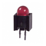 Dialight 550-0404F, Red PCB LED Indicator 5mm (T-1 3/4), Through Hole