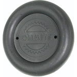 Ohmite Pointer Knob, Pointer Knob Type, 82.6mm Knob Diameter, Black, 9.5mm Shaft, For Use With 9.5mm Shafts