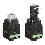EMERSON – AVENTICS 3/2 Pneumatic Control Valve - Pilot/Spring G 1/2 NL4-SOV Series 24V dc