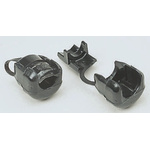 SES Sterling Black PA 6 22.5mm Round Cable Grommet for 10.1 → 12.5mm Cable Dia.