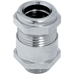Lapp Nickel Plated Brass Cable Gland Kit, M20 Thread Size, 10.8 → 12.8mm Cable Diameter