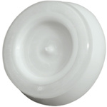 WISKA Grey Polypropylene, Thermoplastic 20mm Round Cable Grommet for 6 → 13mm Cable Dia.