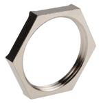 Lapp Nickel Plated Brass Cable Gland Locknut, PG21 Thread