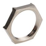 Lapp Nickel Plated Brass Cable Gland Locknut, PG16 Thread
