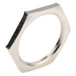 Lapp Nickel Plated Brass Cable Gland Locknut, M50 Thread