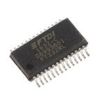 FTDI Chip Multiprotocol Transceiver 28-Pin SSOP, FT232RL