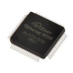 WIZnet Inc W5100, Ethernet Controller, 100Mbps MII, SPI, 3.3 V, 80-Pin LQFP