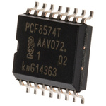 NXP 8-Channel I/O Expander I2C 16-Pin SOIC, PCF8574T/3,512
