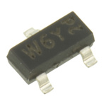 NXP PMBFJ177,215 P-Channel JFET, 30 V, Idss 1.5 to 20mA, 3-Pin SOT-23