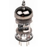 RS PRO Double Triode Thermionic Valve, B9A Base, 1W, 12.6V, 22.5 (Dia.) x 57mm